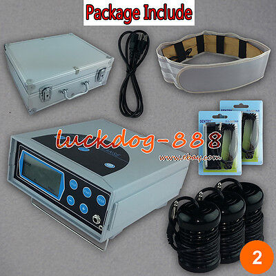 2018 Lcd Detox Ionic Foot Bath Spa Cell Cleanse + Fir Belt 3 Arrays Ce Approved