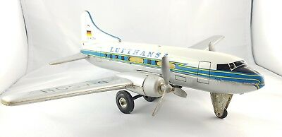 Tippco Lufthansa - Friktionswerk - 50ziger - Made in Western Germany