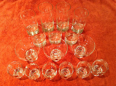 CROWN CORNING GLASSES: VARIOUS, RETRO: 1970's