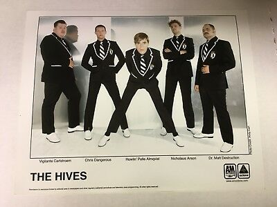 The Hives Publicity Promo Photo Original 8 X 10 Inches New