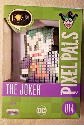 Dc Comics Pdp Pixel Pals: The Joker #014 Collectible Light Display Brand New