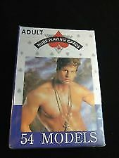 Nude Male Playing Cards, 54 Models   X-Rated New Sealed