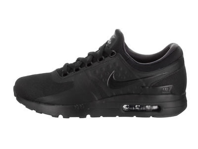 NIKE AIR MAX Zero Essential Mens Running Shoes Triple Black 876070 006 -   59.95  ac2ed5ad9132