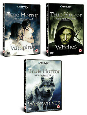 True Horror Vampire Witches Werewolves Documentaries New 3 Dvd Collection R4