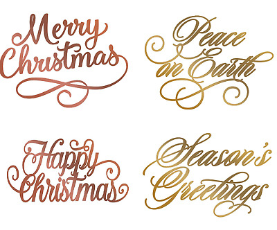 Couture Creations Christmas Festive Hotfoil Stamps foil stamp die YOU CHOOSE