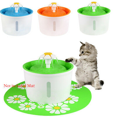 New Pet Water Fountain For Cat Dog Automatic Water Drinking Bowl Dish Dispense