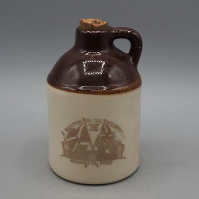 Vintage Prickett's Fort West Virginia Souvenir Jug