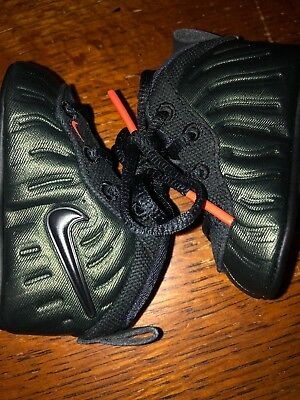 a15b606206b Infant Nike Lil Posite Pro Baby Foamposite Forest Green 643145 300 Sz2