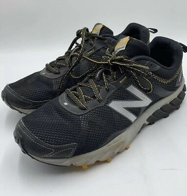 new style 6e4ce 708a5 NEW BALANCE 610V5 Mens Trail Running Shoes Size 10 Black ...
