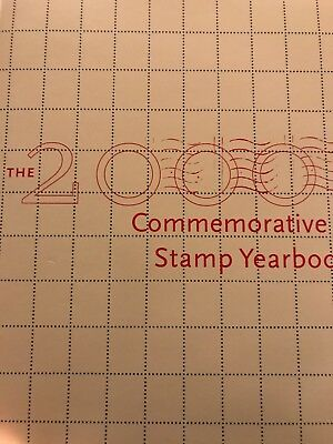 2000 Commemorative Stamp Yearbook USPS Souvenir Mint Set with Stamps, SEALED NEW