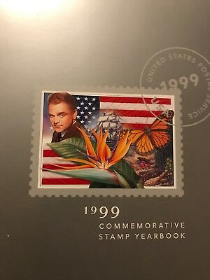 1999 USPS COMMEMORATIVE STAMP YEARBOOK/COVER/SEALED STAMPS NEW and UNHINGED