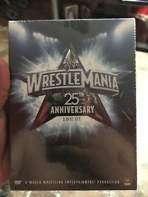 WWE Wrestlemania 25 DVD Set with 64 Page Book