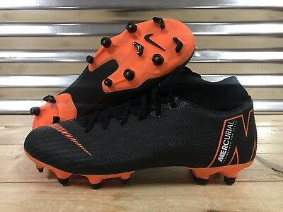 Nike Mercurial Superfly 6 Academy FG Soccer Cleats Black Orange SZ (AH7362- 081) 7888d2de29