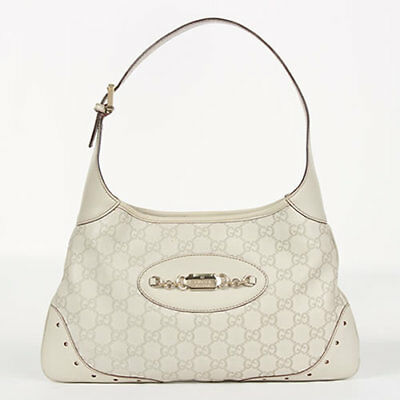 ed520f47001 affordable gucci guccissima shoulder bag handbag purse horsebit jackie hobo  white with gucci guccissima medium hobo bag white p