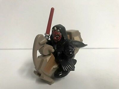 STAR WARS GALACTIC HEROES Darth Maul w/ Sith Speeder Action Figure Toy