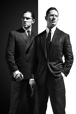 Legend Tom Hardy Black And White Movie ART SILK POSTER 8x12 24x36 24x43