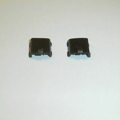 Dinky Toys 712 Beechcraft Baron Military Black engine covers pair of repro parts