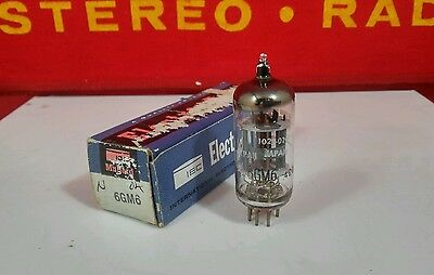 Vintage NOS NIB  6GM6  IEC Electron tube Tube Made in Japan Tested NOS