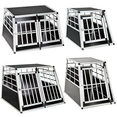 Hundebox Transportbox Alubox Box Hundetransportbox Reisebox Gitterbox ALU