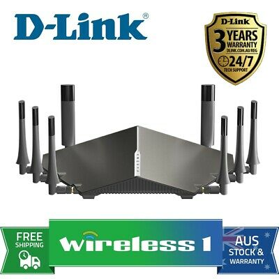 All NEW D-Link COBRA DSL-5300 AC5300 MU-MIMO Wi-Fi Modem Router