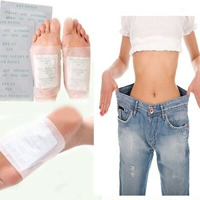 Detox Foot Pads Adhesive Patch Detoxify Toxins Keeping Fit Health Care 10 Pair