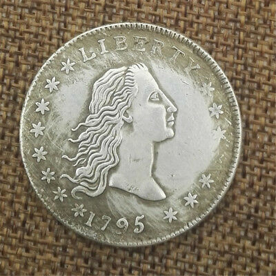 1X Flowing Hair Half Dollar Coin United States Of Liberty American Coin USA 1795