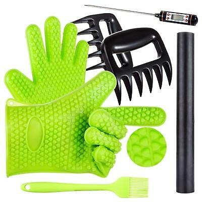 BBQ Grill Oven/Cooking Gloves-Meat Claws Set - Targher 5 in 1 BBQ Set with