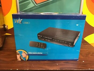 HQ AVswitch-2 Video Source Selector (NOS) NEW