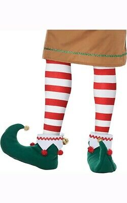 Adult Elf Mens Womens North Pole Shoes Christmas Accessory
