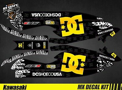 Kit Déco pour / Decal Kit for Jet Ski Kawasaki 800 Sxr - DC