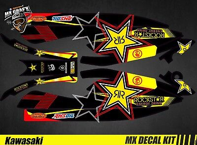 Kit Déco pour / Decal Kit for Jet Ski Kawasaki 800 Sxr - RockStar