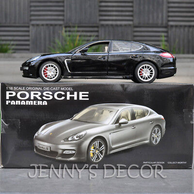 1:18 Diecast Car Model Toy Porsche Panamera Miniature Vehicle Replica Collection