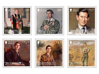 The 70th Birthday of Prince Charles Mint Set (WL31)