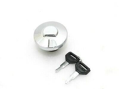 New Brand Suzuki Samurai Gypsy Chrome Lockable Fuel Tank Cap With Keys