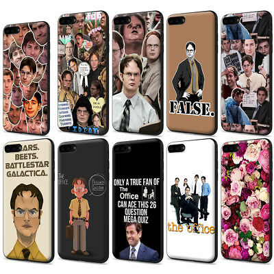 big sale f5b23 724d0 THE OFFICE TV Collage Multi Dwight Schrute Phone Case for IPhone for ...