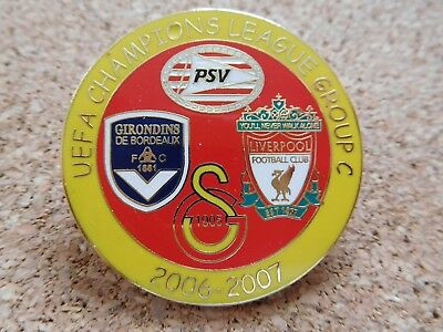 PIN/Anstecker CHAMPIONS LEAGUE FC LIVERPOOL /GALATASARAY ISTANBUL/PSV EINDHO