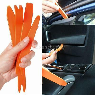 4x Car Audio Trim Pry Removal Tool Kit Door Panel Clip Light Dash Radio CA