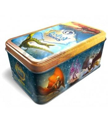 FANTASY RIDERS - TIN BOX. 1 lata con 25 cartas base + 25 especiales