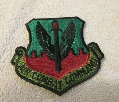 Military Patches:u.s Air Force Tactical  Air Combat Command Hat Patch