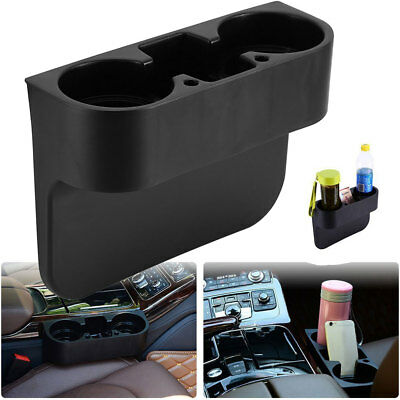 Car Seat Seam Wedge Cup Holder Food Drink Bottle Mount Storage Organizer  Glove!
