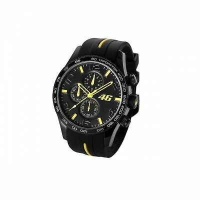 2018 Valentino Rossi VR46 Moto GP Chronograph Watch Black - NEW, OFFICIAL, BOXED