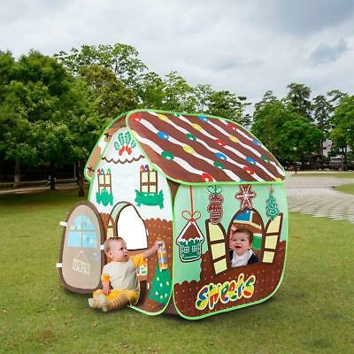 Homfu Play Tent for Kids for Indoor Outdoor Playhouse Boys Girls Child Gift