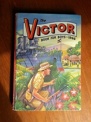Victor book for boys 1966 Very fine unclipped EX condition all round No Pen mark