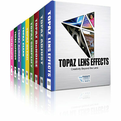 Topaz Labs 17 Classic Plugin Bundle 2017 with 17 Licenses (Windows & MAC) NO CD