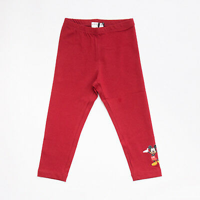 """Leggings Red Mickey Mouse Kids (4/8A) """"monnalisa"""" 112406A6  F/w 2018 [30% Off]"""