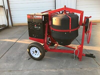 New Allen Eng. Concrete Mixer 9Cf 8 Hp