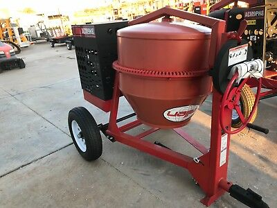 New Allen Eng. Concrete Mixer 9Cf 8 Hp Steel Drum