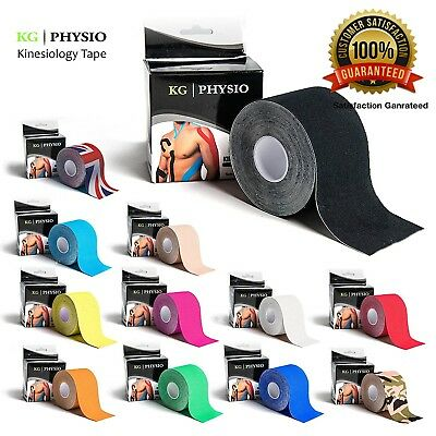 5m Kinesiology Tape | Sports Physio Knee Shoulder Body Muscle Support