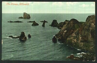 Postcard - The Drongs, Hillswick, Shetland - Real Photo