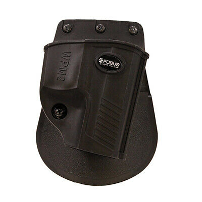 Fobus Evolution Holster Walther PPS M2 9mm, Paddle, Right Hand, Black